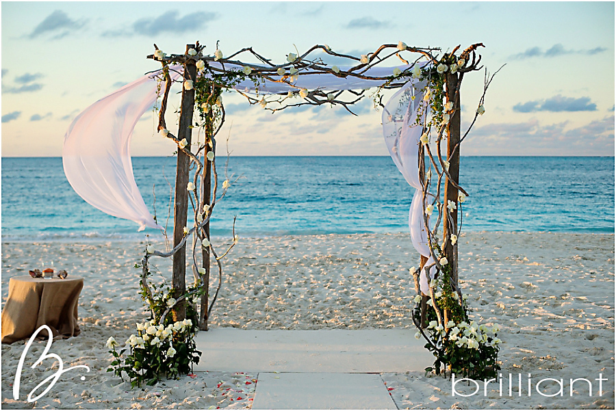 & rustic glam beach wedding -Brilliant Studios