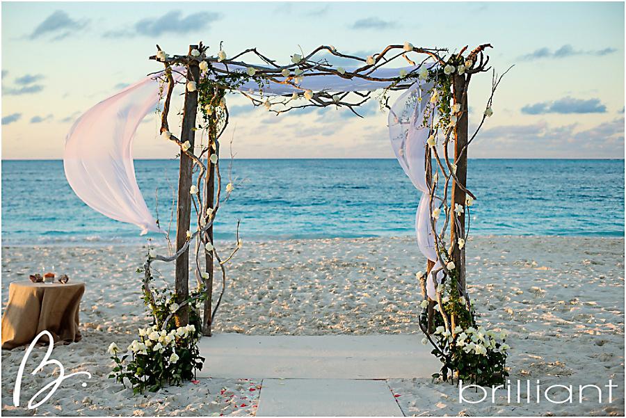 Rustic Glam Beach Wedding Brilliant Studios