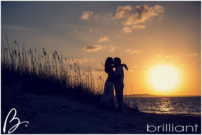 turks and caicos engagement shoot