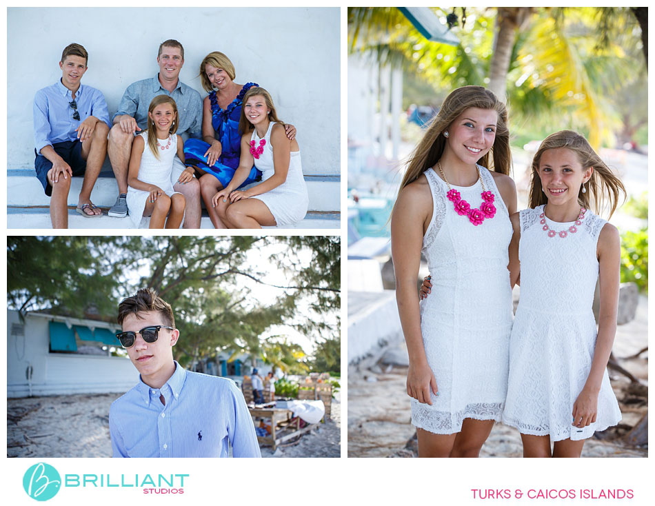 senior pictures in turks and caicos