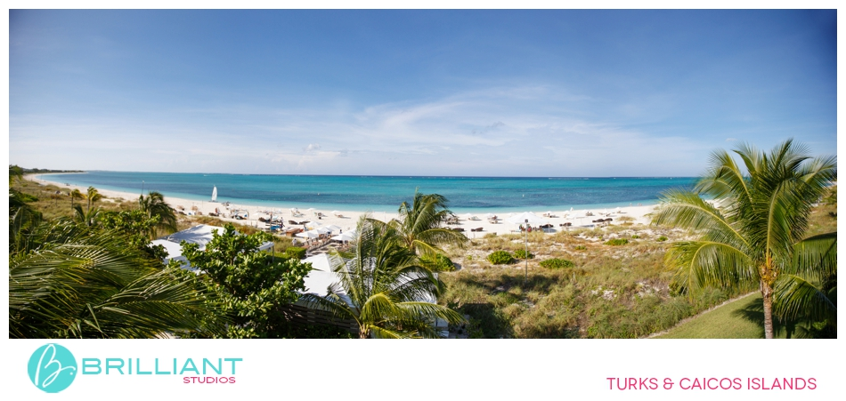 Destination wedding at the Gansevoort Turks and Caicos