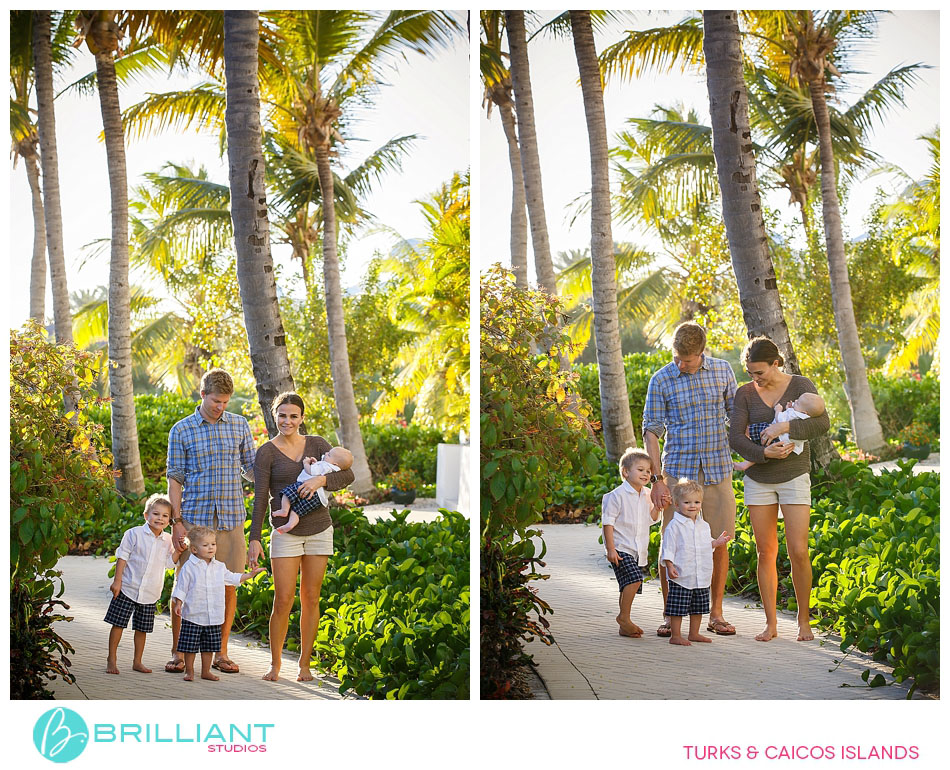 sunset family pictures