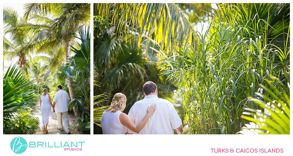 Engagement at the Palms Resort & Spa.