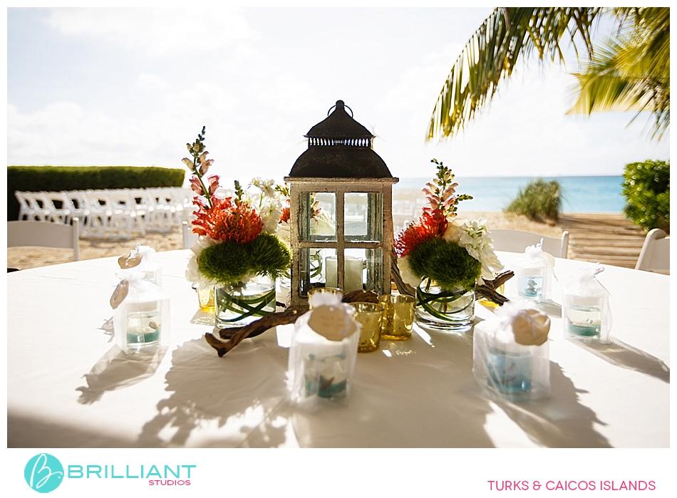 Footprints on the beach destination wedding turks and for Turks and caicos destination wedding