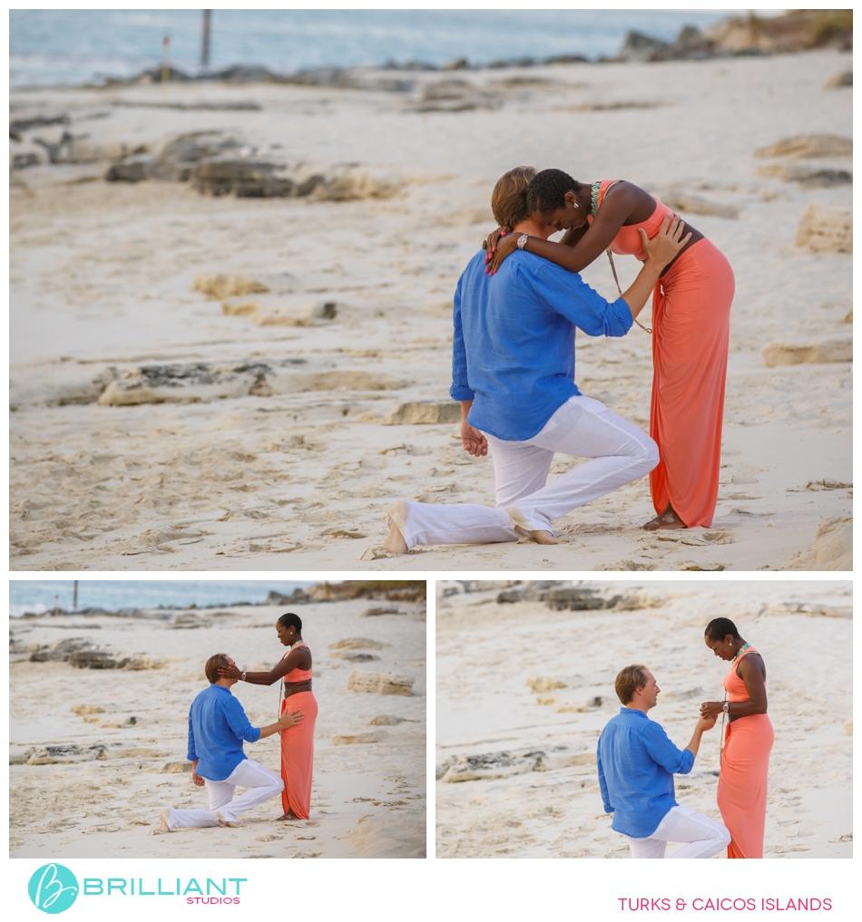 A Secret Proposal On Grace Bay Beach