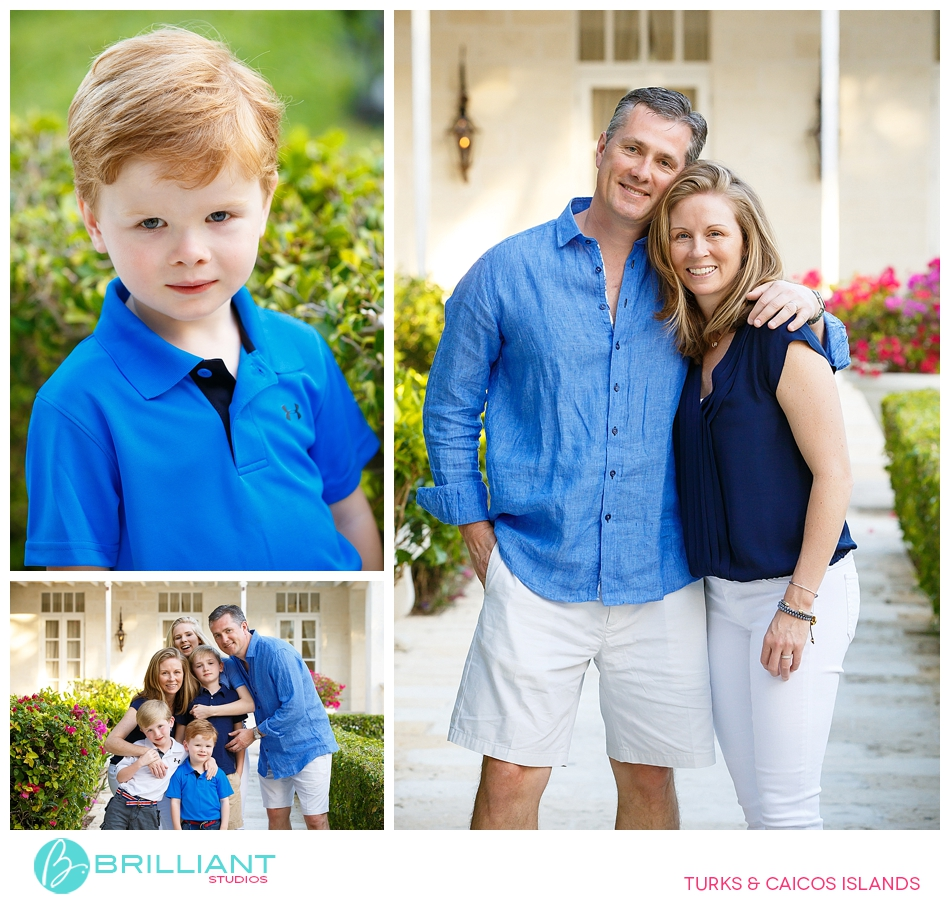 family photo session at the palms resort