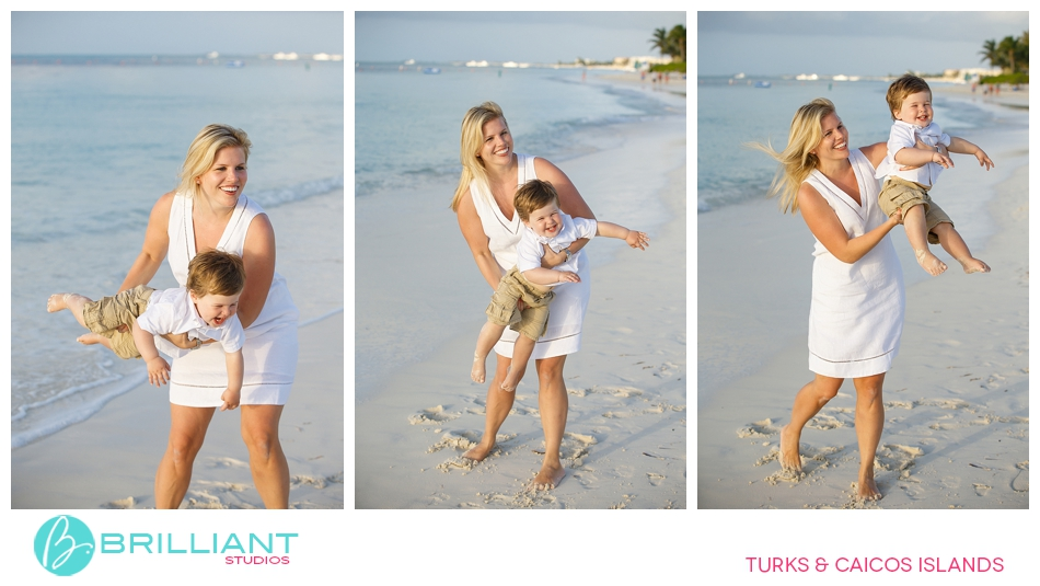 turks and caicos family portrait