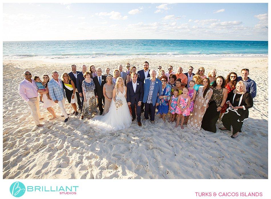Destination wedding Grace Bay Beach
