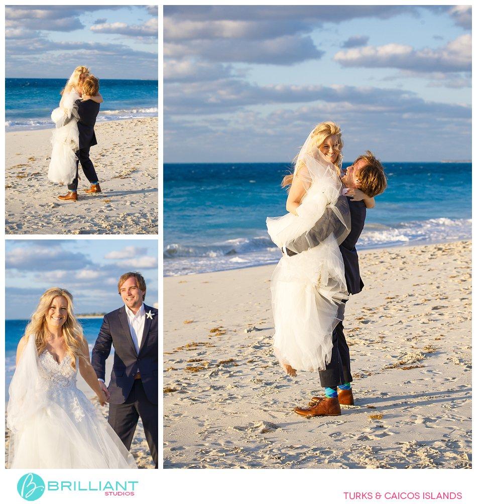 Grace Bay Beach wedding Turks and Caicos Islands