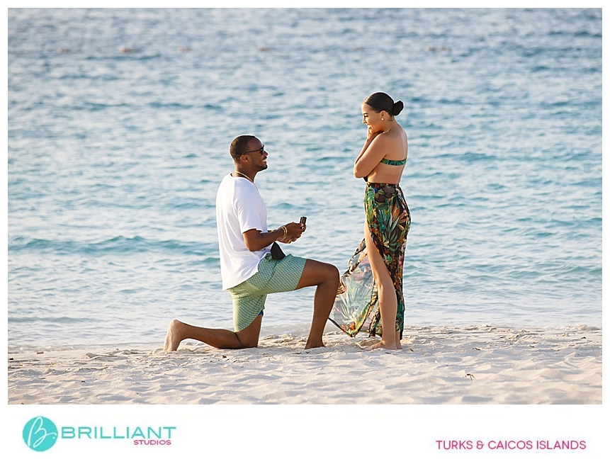 secret proposal in turks and caicos