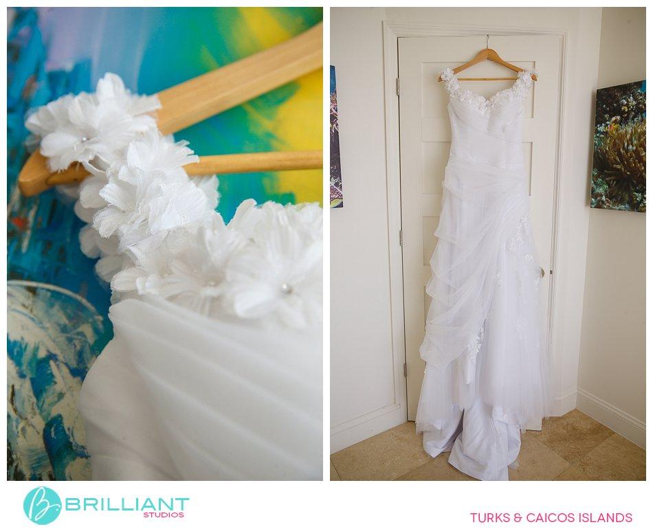 wedding dress in South Caicos
