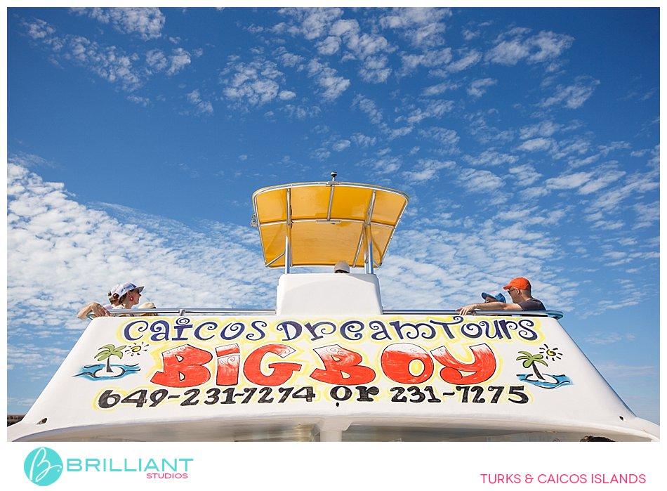 Big Boy Caicos Dream tours Turks and Caicos Islands