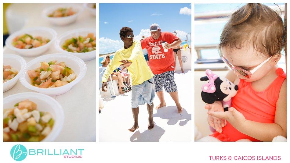 conch salad Turks and Caicos Islands