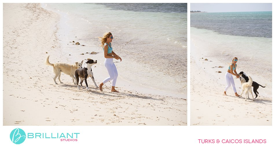 Blue Hills potcakes Turks and Caicos Islands