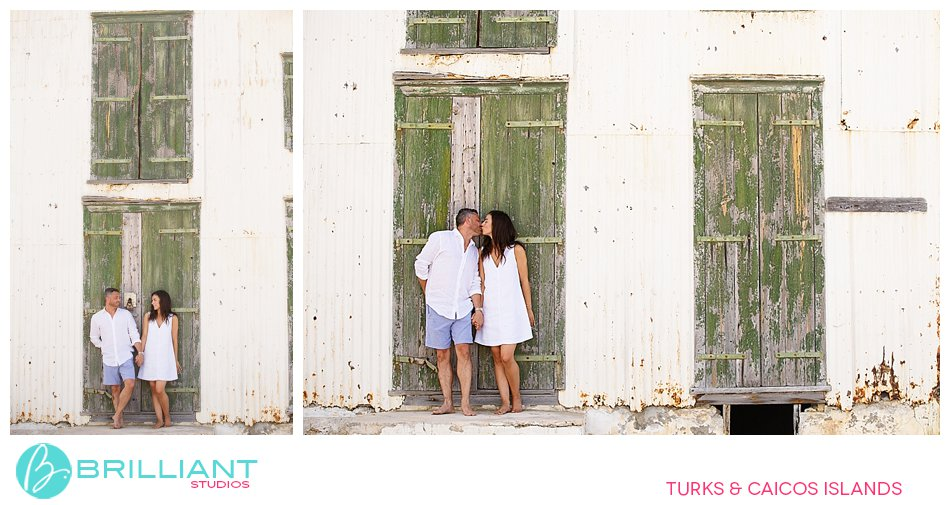 Couple in South Caicos
