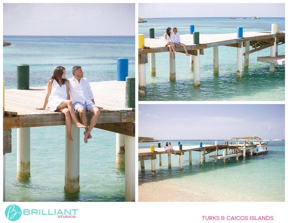 photo shoot South Caicos Dock