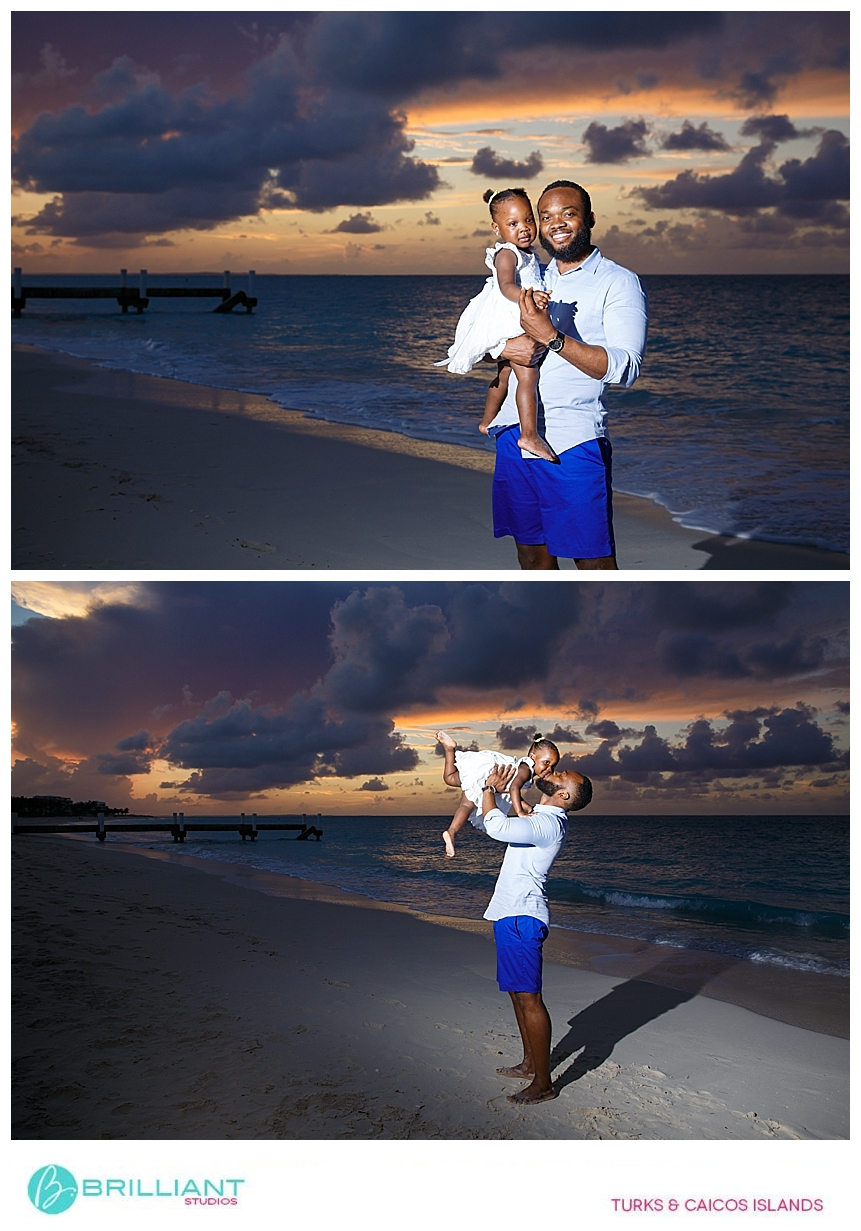 family photo shoot next to the seven stars resort