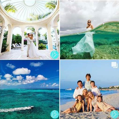 turks and caicos wedding photos